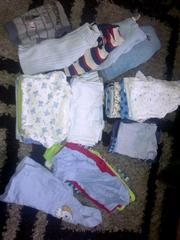 0-3 months boys clothes bundle