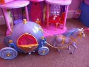 Cinderellas horse and carriage